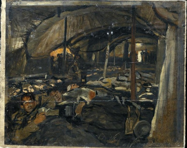 LOBLEY - 41st CCS - Le Cateau - IWM.org.uk - crop